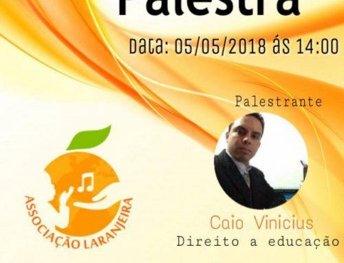 Palestra sobre Educação!